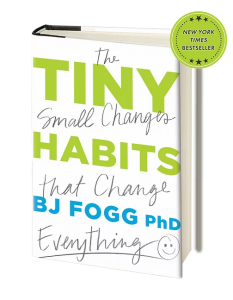 Tiny Habits book 3D image