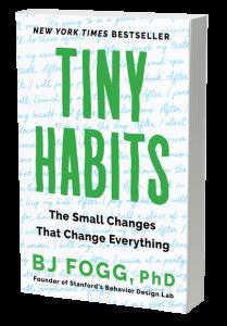 TIny Habits paperback image